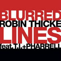 Blurred Lines - Robin Thicke Featuring T.I. + Pharrell -